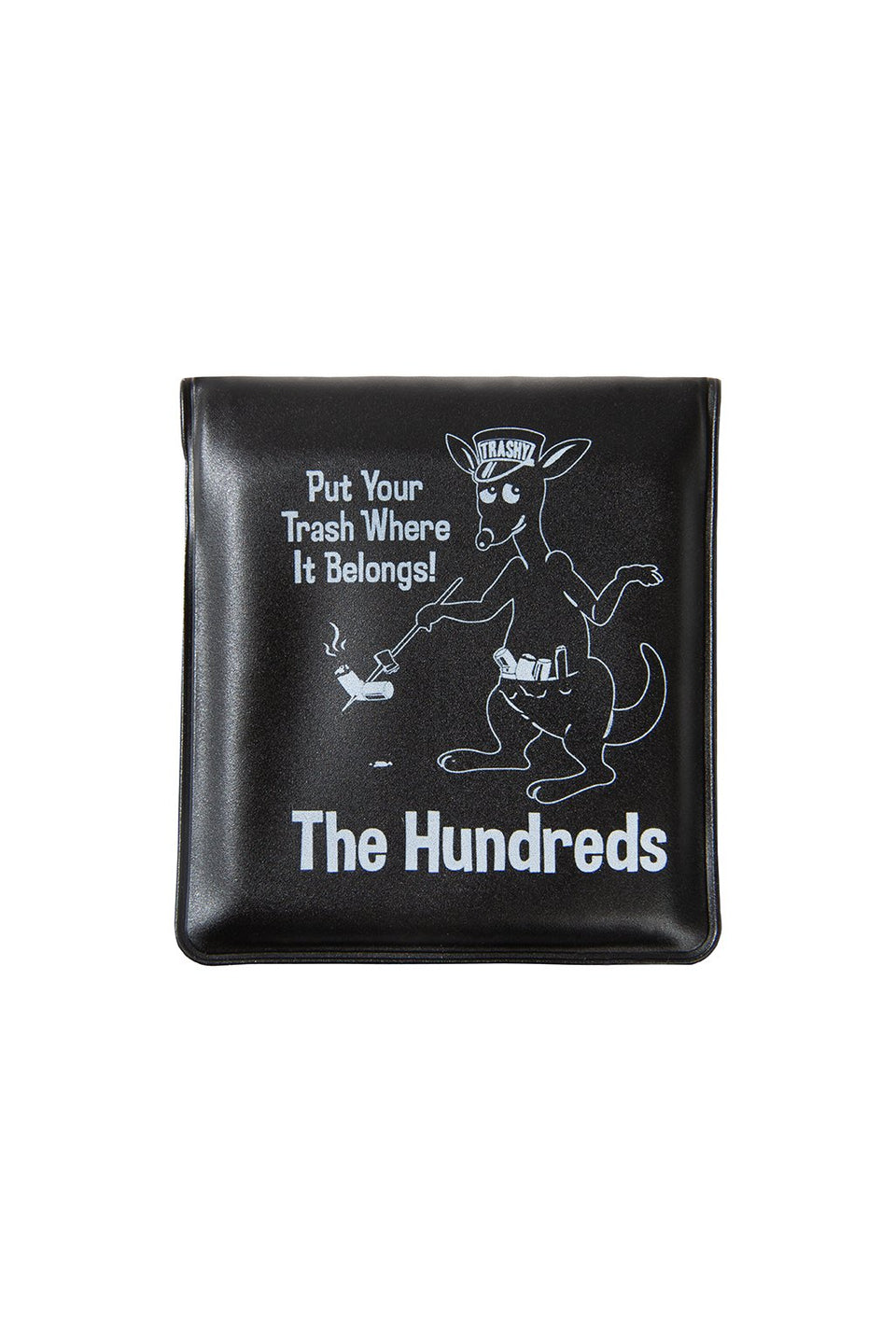 The Hundreds Trashy Portable Ash Tray ACCESSORIES Black