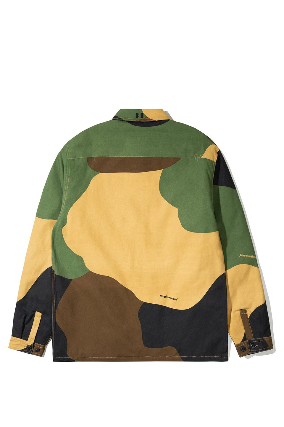 The Hundreds Kurtz Button-Up TOPS Camo