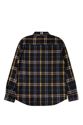 The Hundreds Hill Button-Up TOPS Black