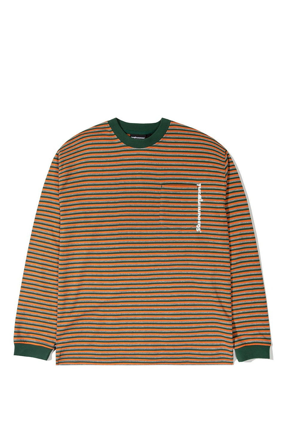 The Hundreds Jones L/S Shirt TOPS Hunter Green