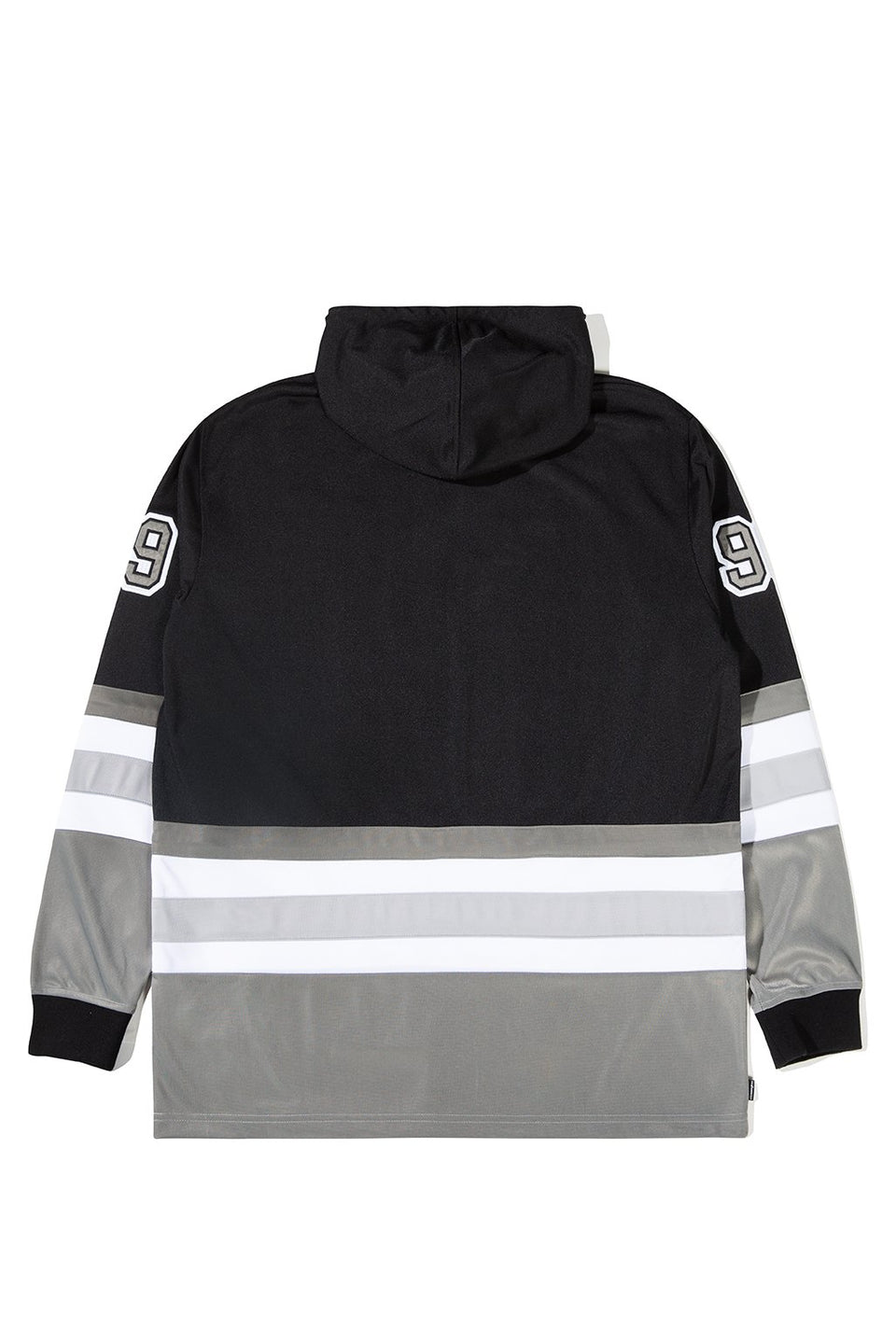 The Hundreds Greats Hooded L/S Jersey TOPS Black