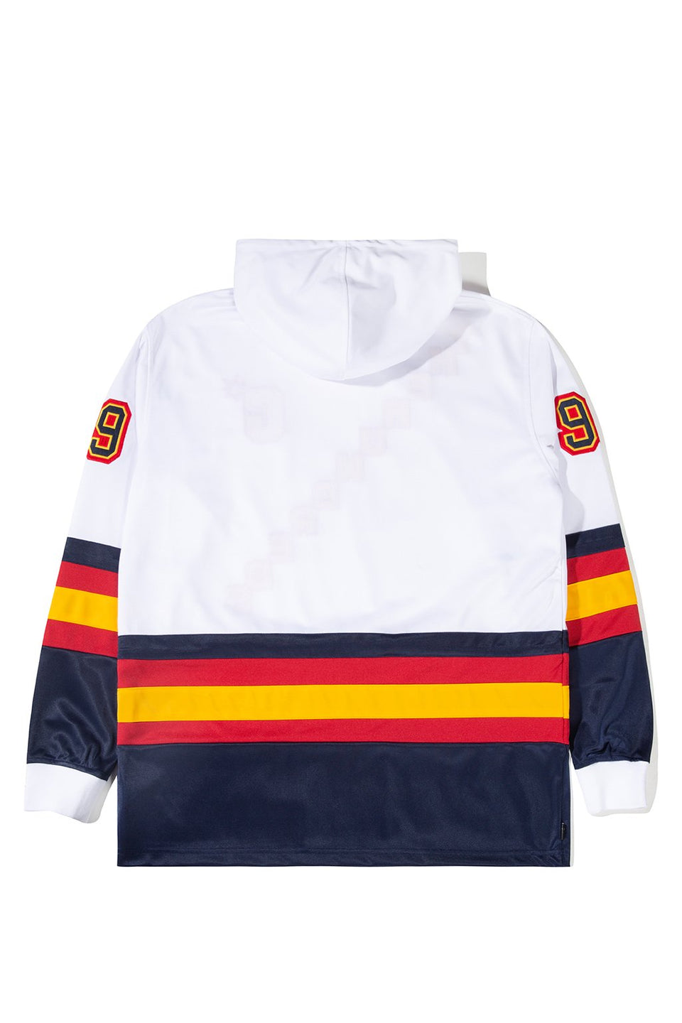 The Hundreds Greats Hooded L/S Jersey TOPS White