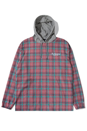 Grime Hooded L/S Shirt