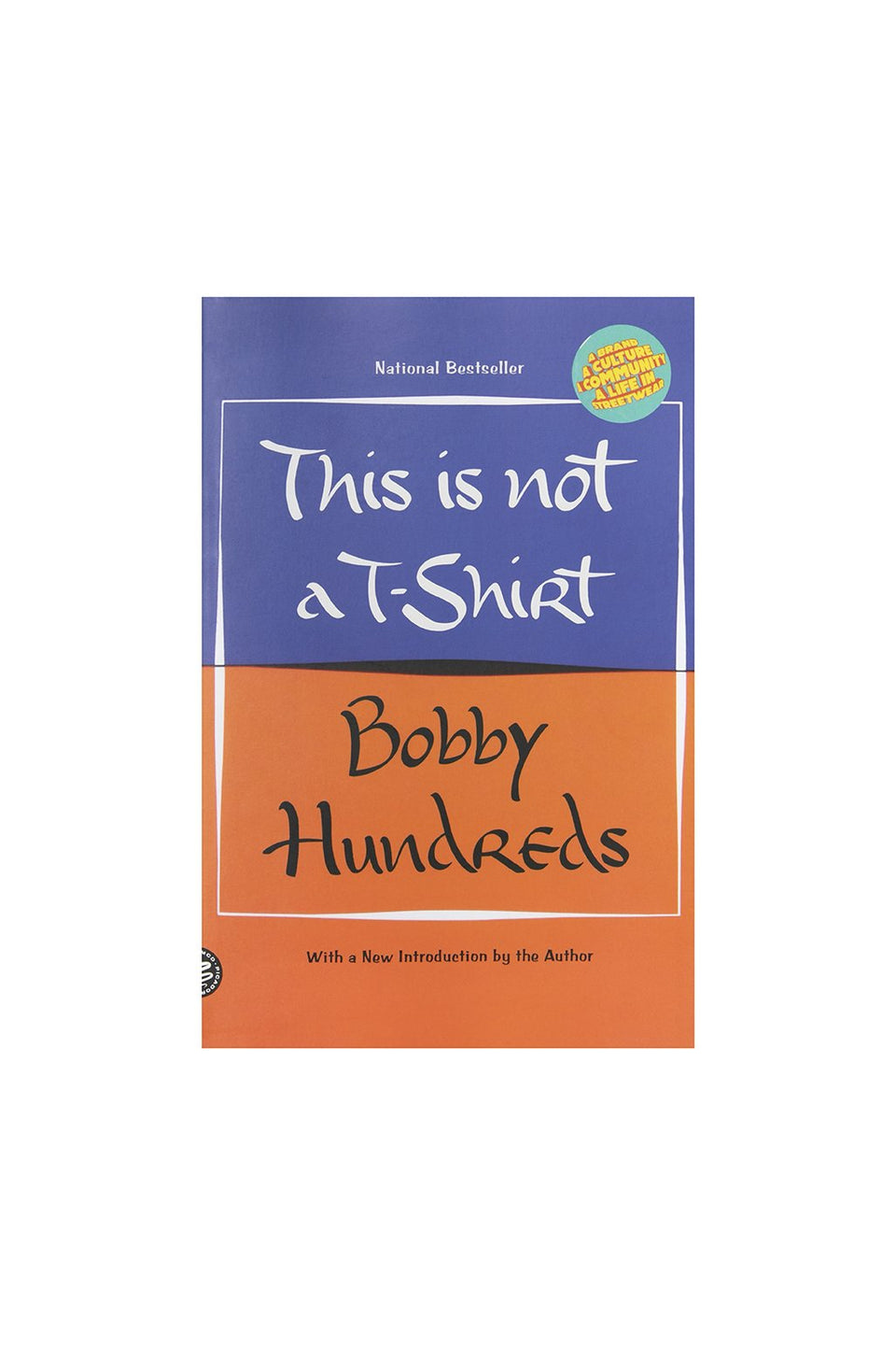 This Is Not A T-Shirt Paperback