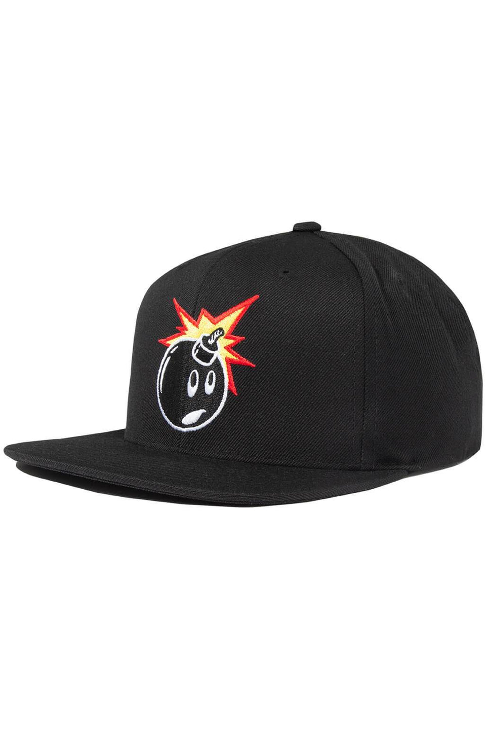 The Hundreds Forever Adam Black Snapback Cap Side