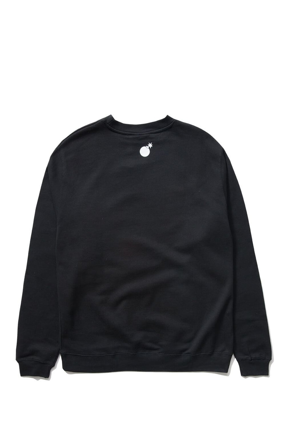 The Hundreds Forever Bar Crewneck Sweatshirt Black Back