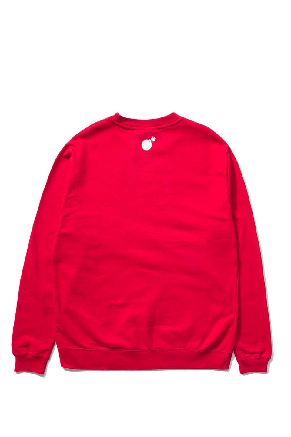 The Hundreds Forever Bar Crewneck Sweatshirt Red Back