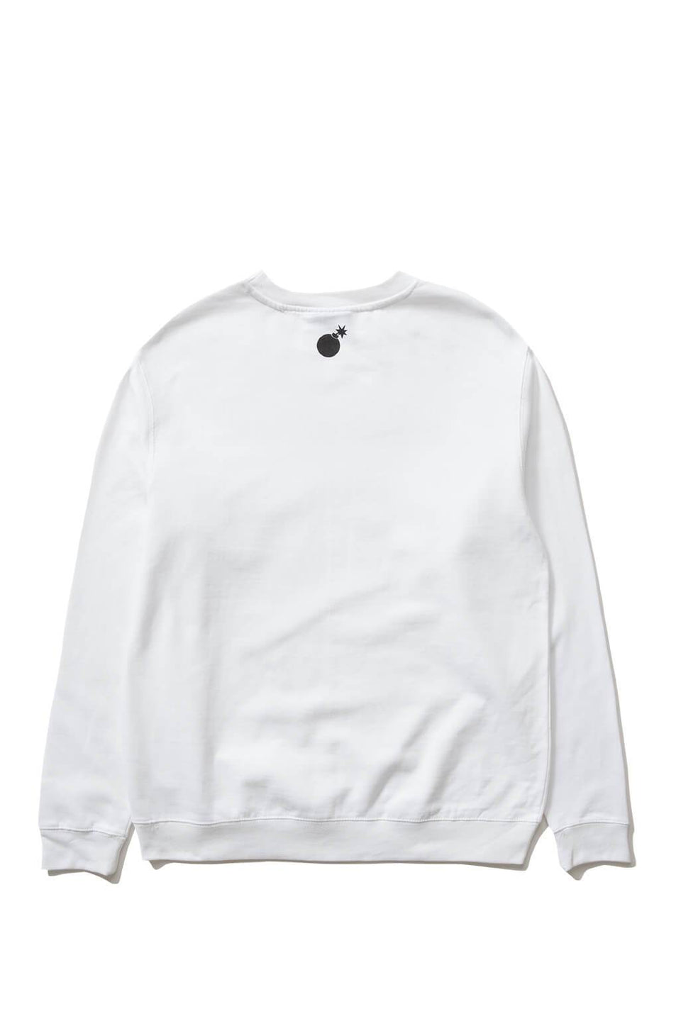 The Hundreds Forever Bar Crewneck Sweatshirt White Back