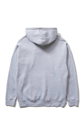 The Hundreds Forever Bar Pullover Hoodie Athletic Heather Back
