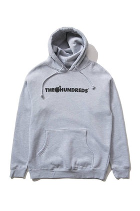 The Hundreds Forever Bar Pullover Hoodie Athletic Heather Front