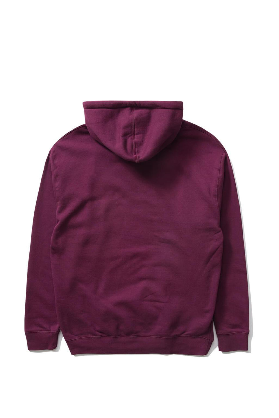 The Hundreds Forever Bar Pullover Hoodie Burgundy Back