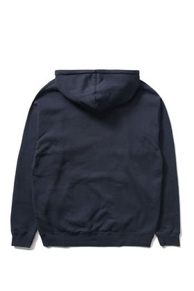 The Hundreds Forever Bar Pullover Hoodie Navy Back