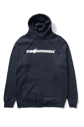 The Hundreds Forever Bar Pullover Hoodie Navy Front