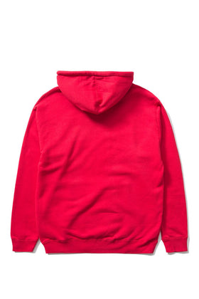 The Hundreds Forever Bar Pullover Hoodie Red Back