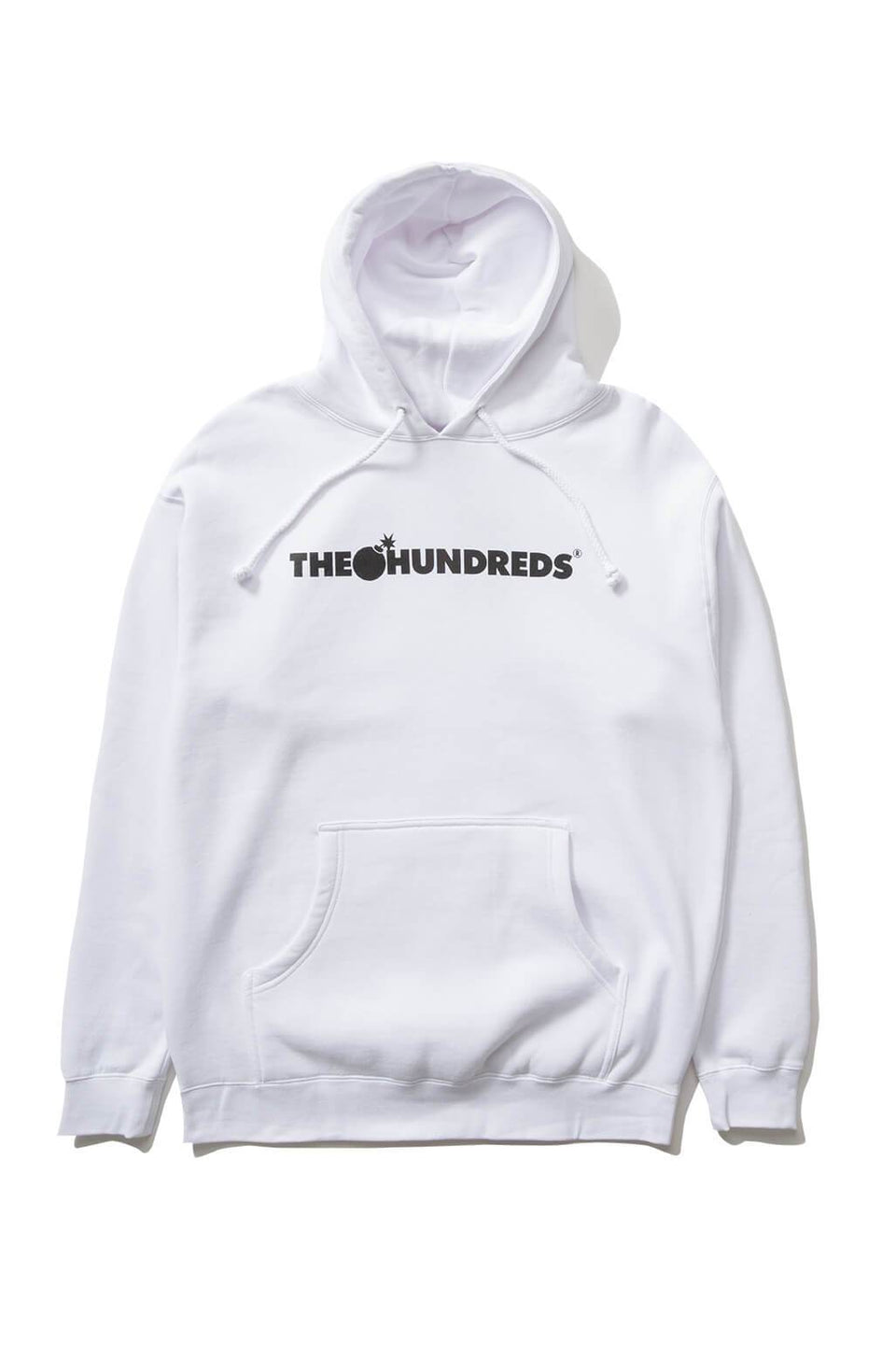 The Hundreds Forever Bar Pullover Hoodie White Front
