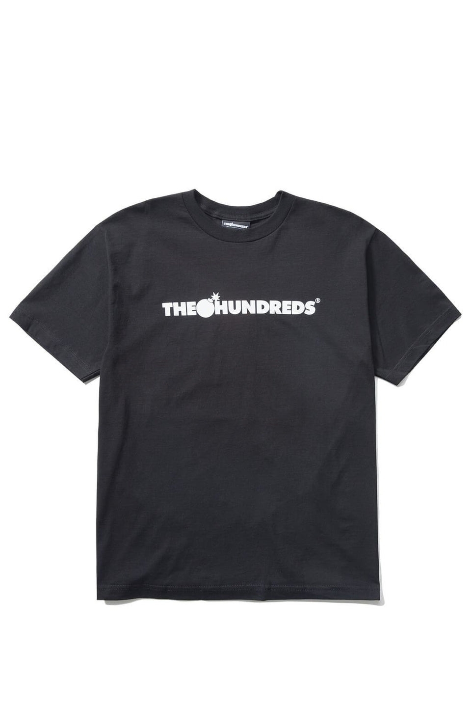 The Hundreds Forever Bar T-Shirt Black Front