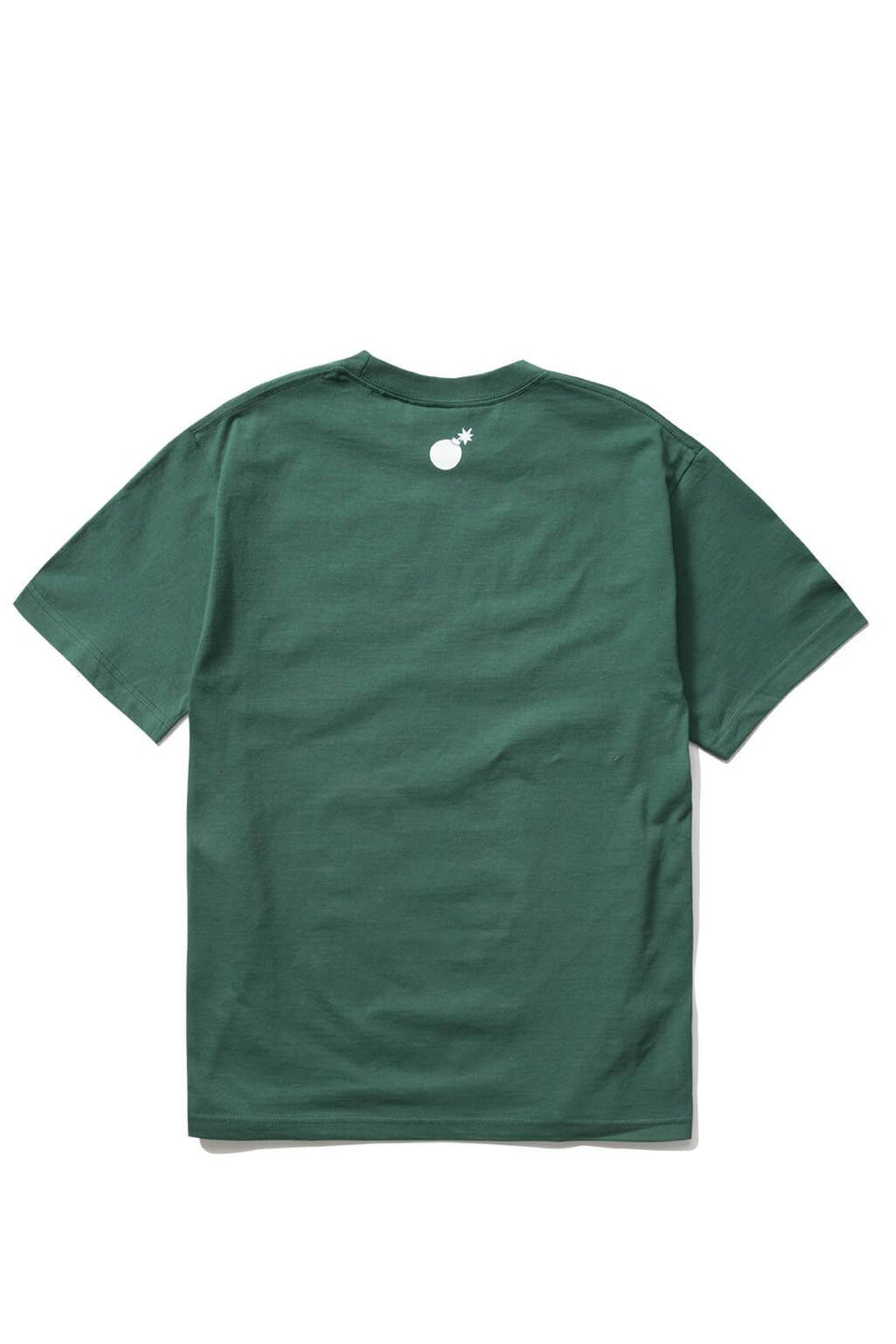 The Hundreds Forever Bar T-Shirt Forest Green Back