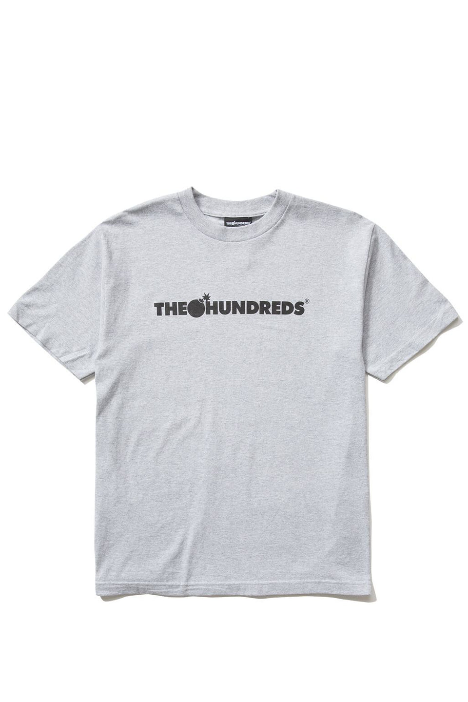 The Hundreds Forever Bar T-Shirt Athletic Heather Front