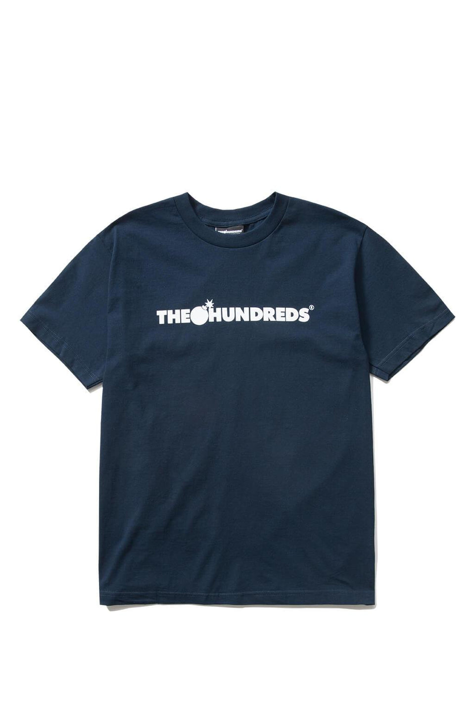 The Hundreds Forever Bar T-Shirt Forest Navy Front