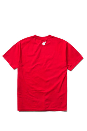The Hundreds Forever Bar T-Shirt Red Back