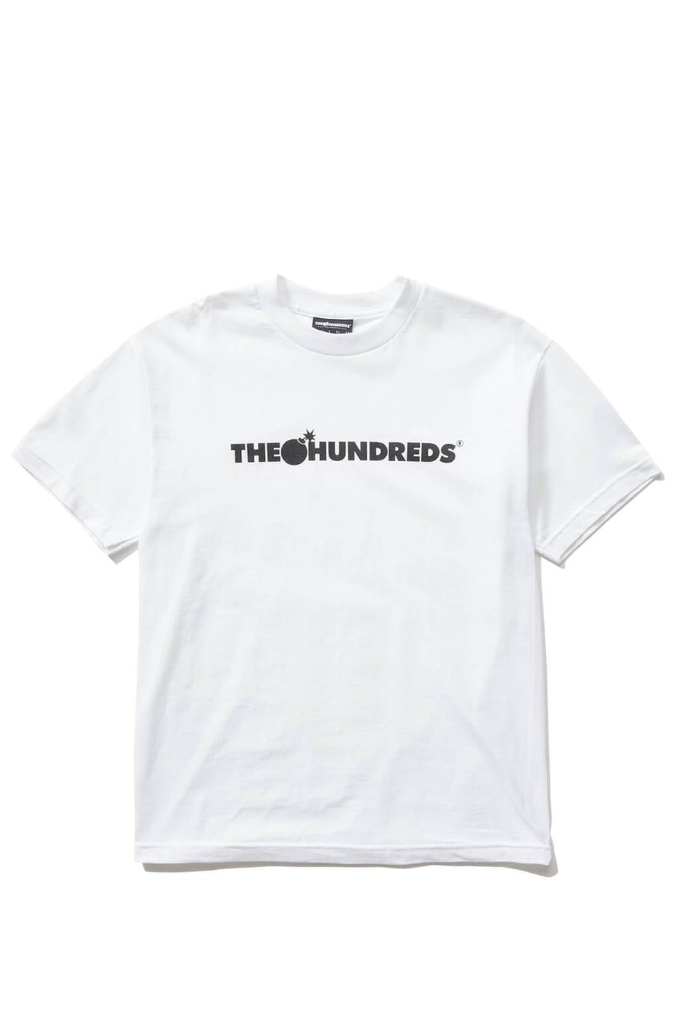 The Hundreds Forever Bar T-Shirt Forest White Front