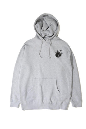 The Hundreds Forever Simple Adam Pullover Hoodie Athletic Heather Front
