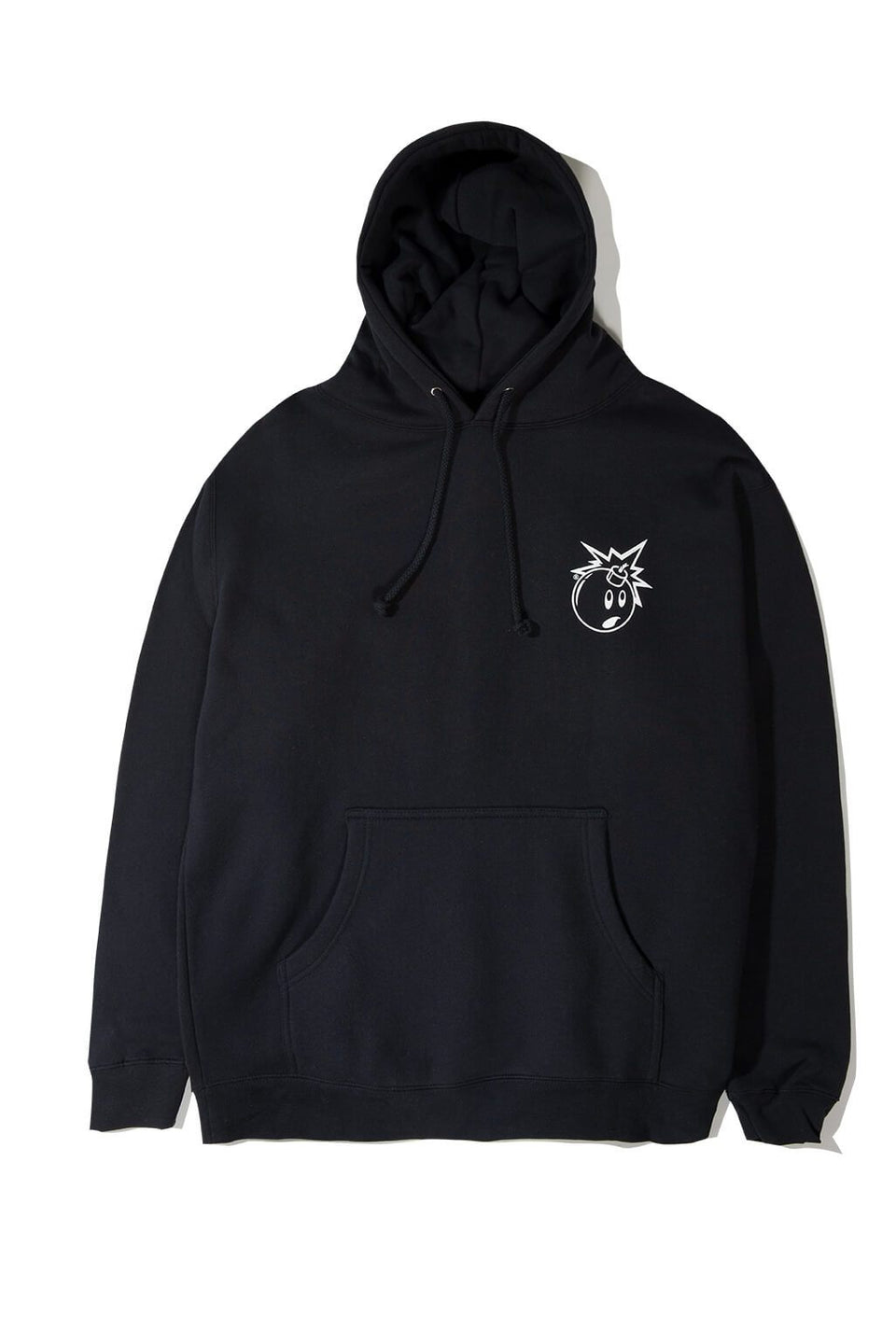 The Hundreds Forever Simple Adam Pullover Hoodie Navy Front