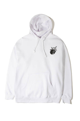 The Hundreds Forever Simple Adam Pullover Hoodie White Front