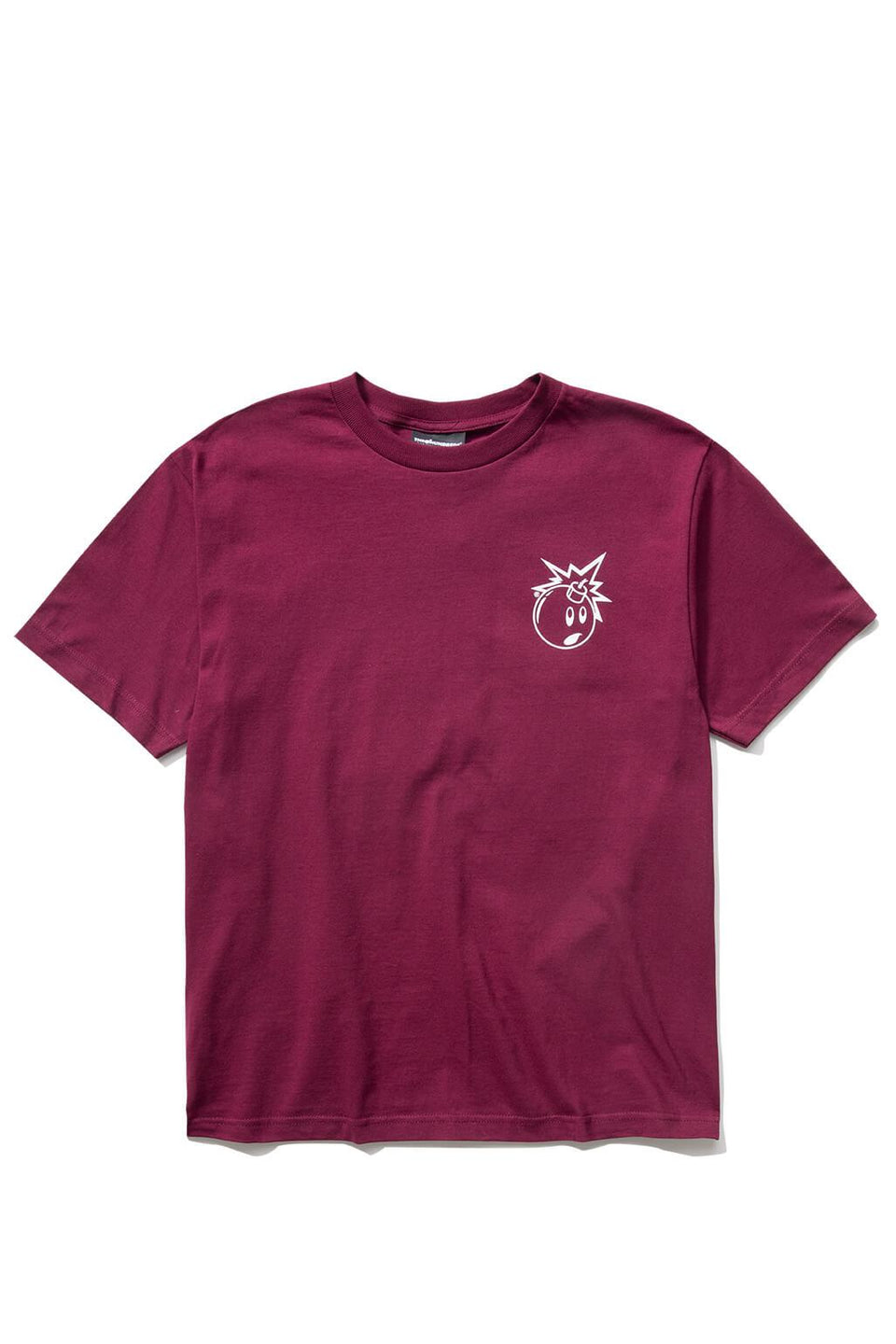 Forever Simple Adam T-Shirt Burgundy Front