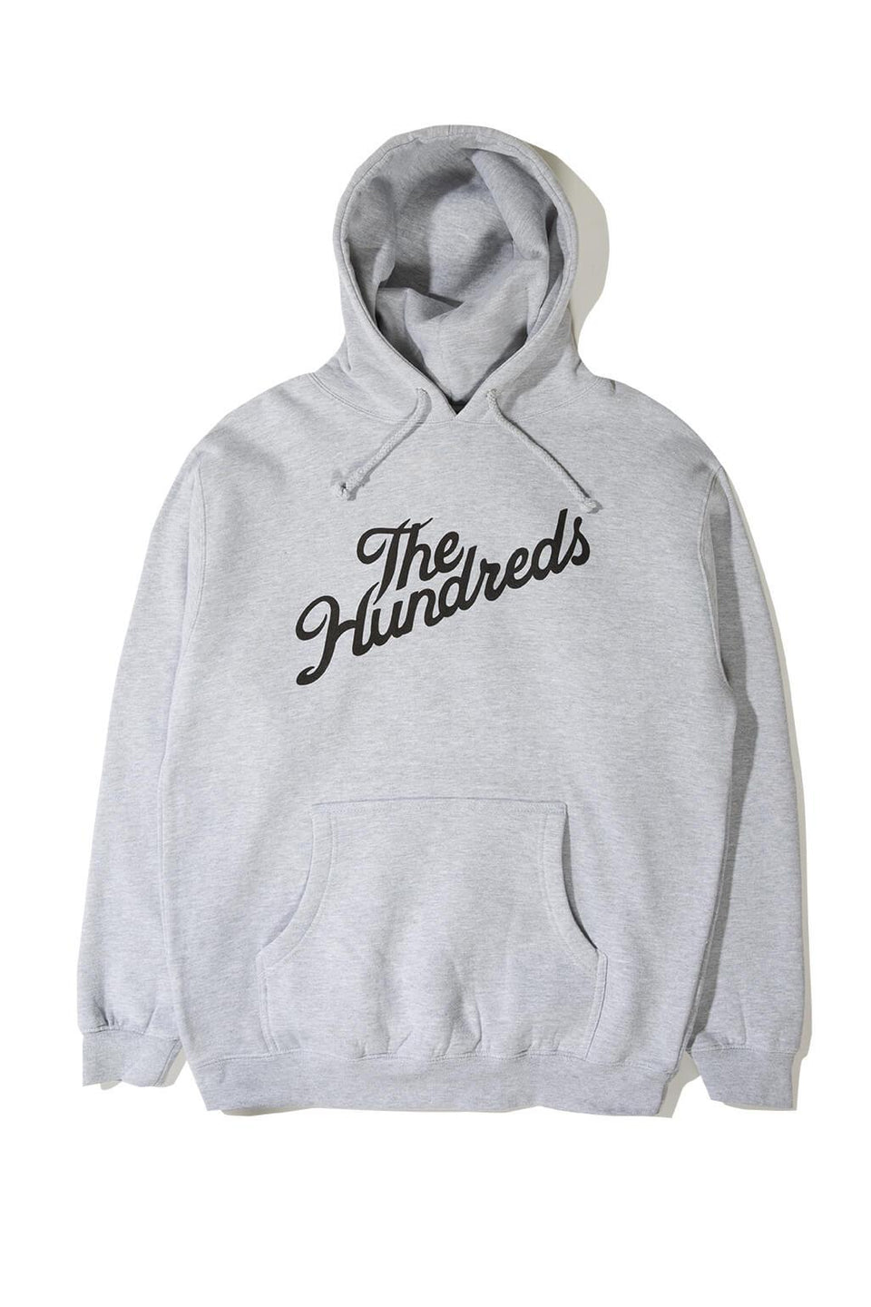 The Hundreds Forever Slant Pullover Hoodie Heather Front