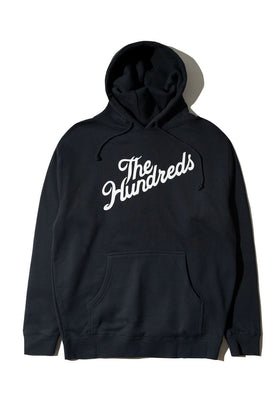 The Hundreds Forever Slant Pullover Hoodie Navy Front