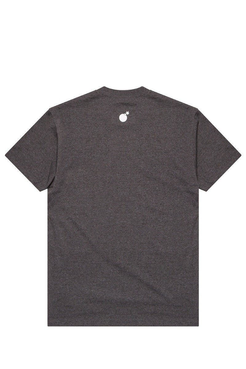 Forever Slant T-Shirt Charcoal Heather Back