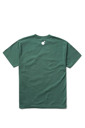 Forever Slant T-Shirt Forest Green Back