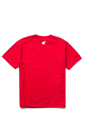 Forever Slant T-Shirt Red Back