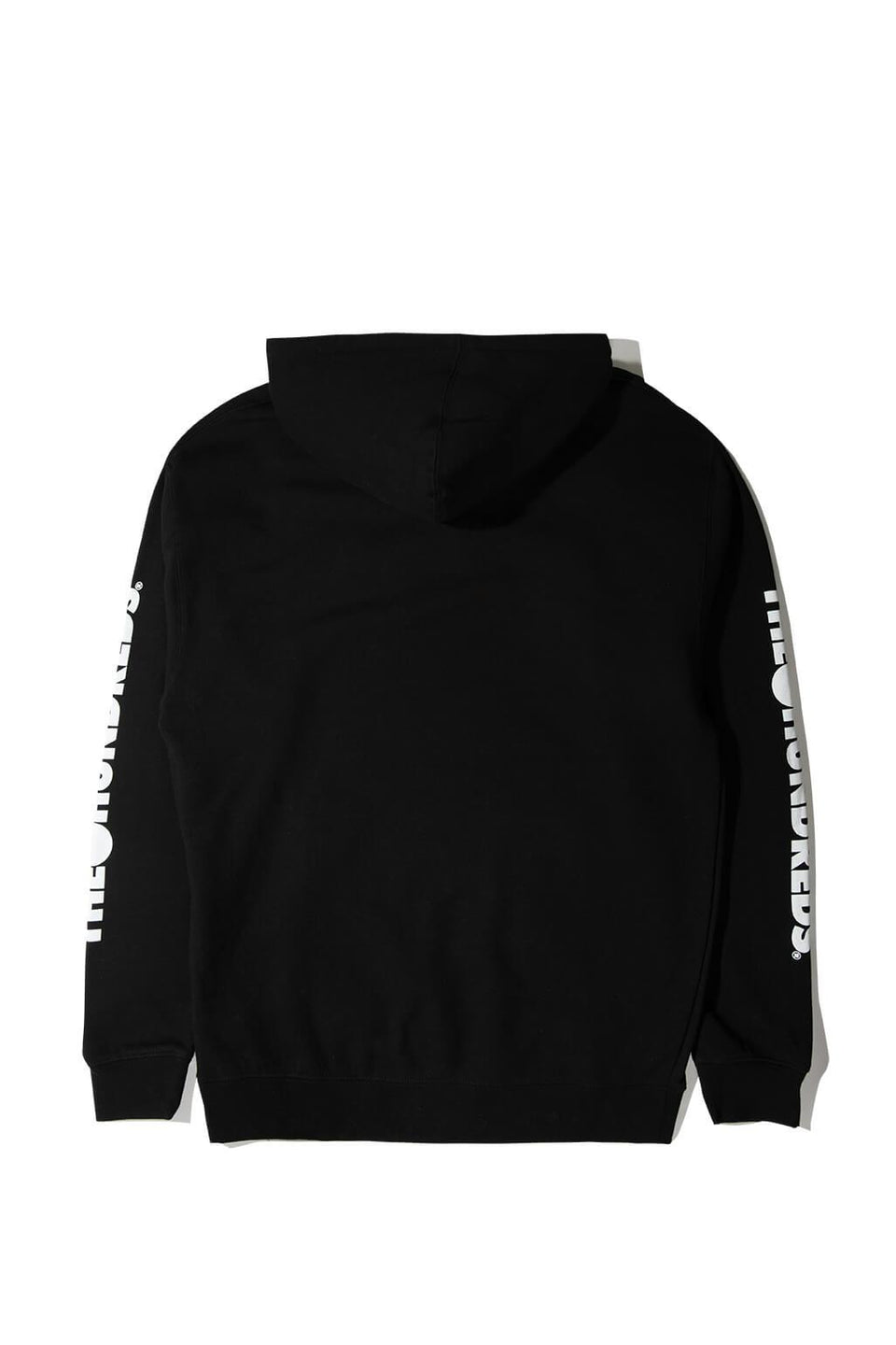 Forever Solid Bomb Crest Pullover Hoodie Black Back