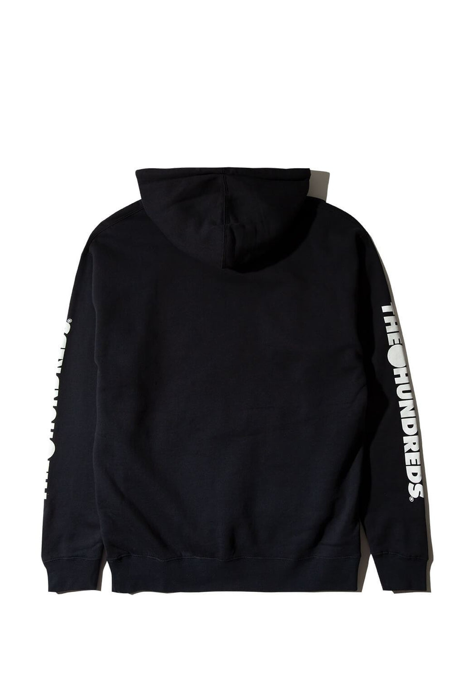 Forever Solid Bomb Crest Pullover Hoodie Navy Back