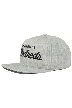 The Hundreds Forever Team Snapback Cap Athletic Heather Side