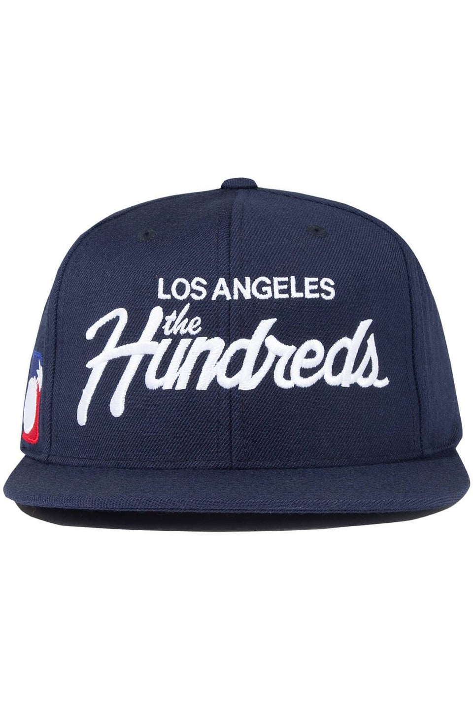The Hundreds Forever Team Snapback Cap Navy Front