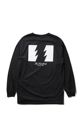 The Hundreds Forever Wildfire Longsleeve Shirt Black Back