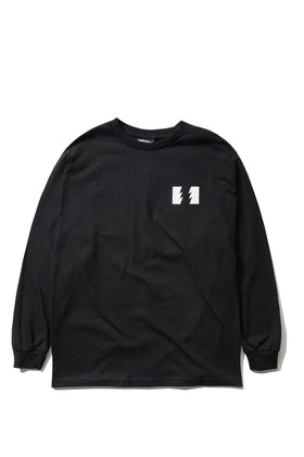 The Hundreds Forever Wildfire Longsleeve Shirt Black Front