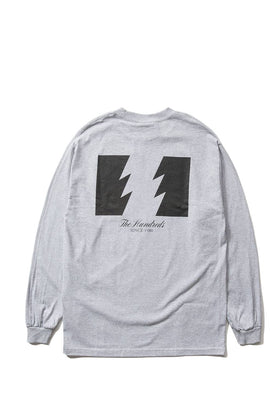 The Hundreds Forever Wildfire Longsleeve Shirt Athletic Heather Back