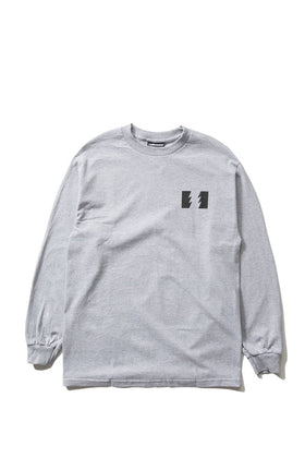 The Hundreds Forever Wildfire Longsleeve Shirt Athletic Heather Front