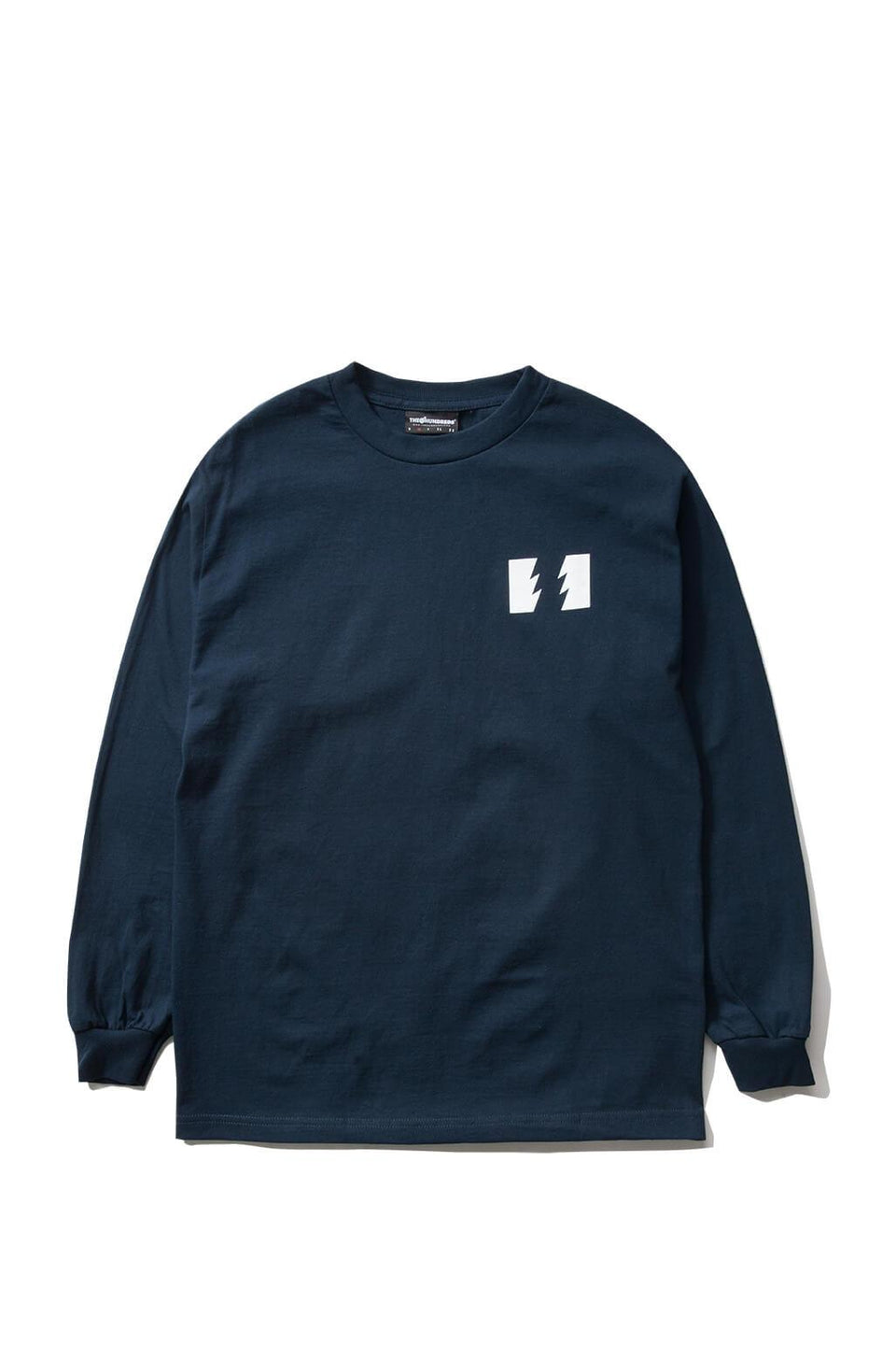 The Hundreds Forever Wildfire Longsleeve Shirt Navy Front