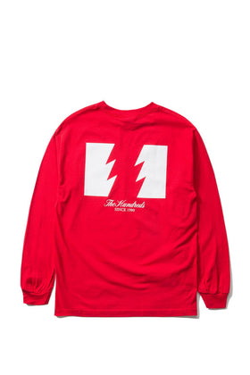 The Hundreds Forever Wildfire Longsleeve Shirt Red Back