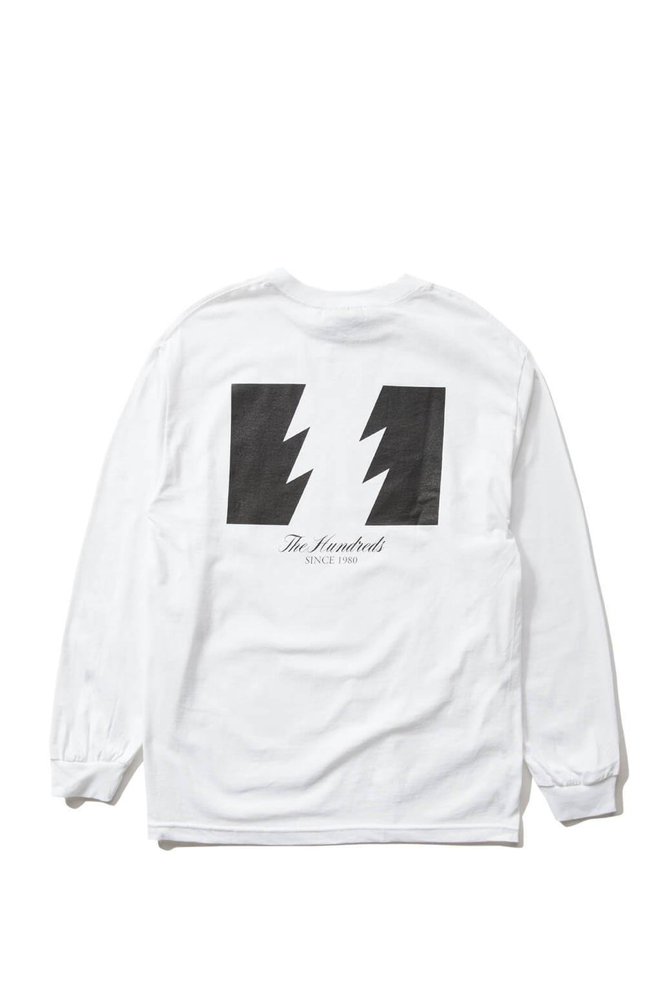 The Hundreds Forever Wildfire Longsleeve Shirt White Back