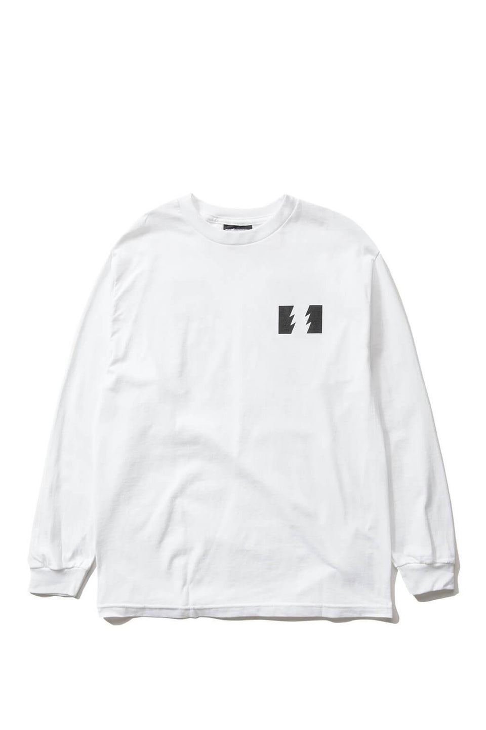 The Hundreds Forever Wildfire Longsleeve Shirt White Front