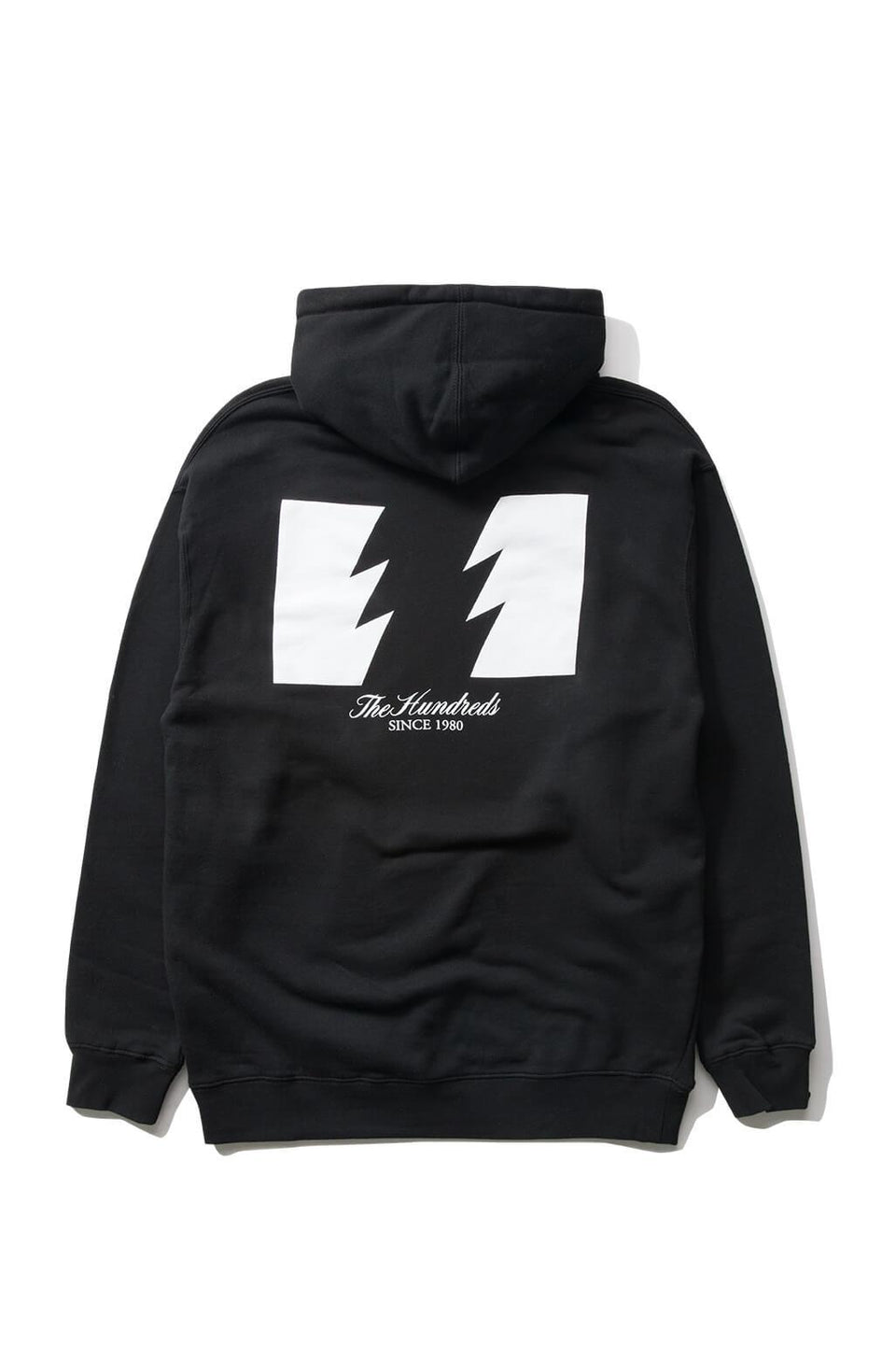 The Hundreds Forever Wildfire Pullover Hoodie Black Back