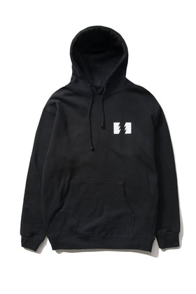 The Hundreds Forever Wildfire Pullover Hoodie Black Front