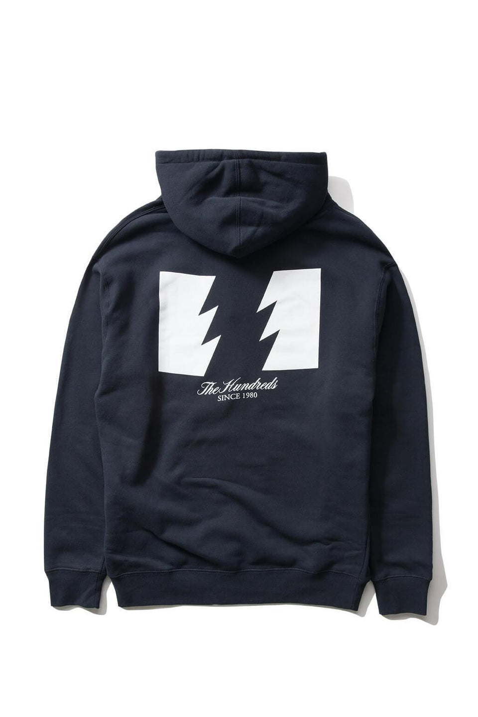 The Hundreds Forever Wildfire Pullover Hoodie Navy Back