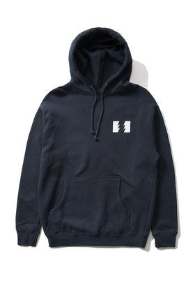 The Hundreds Forever Wildfire Pullover Hoodie Navy Front